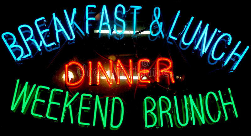 Breakfast Neon Sign