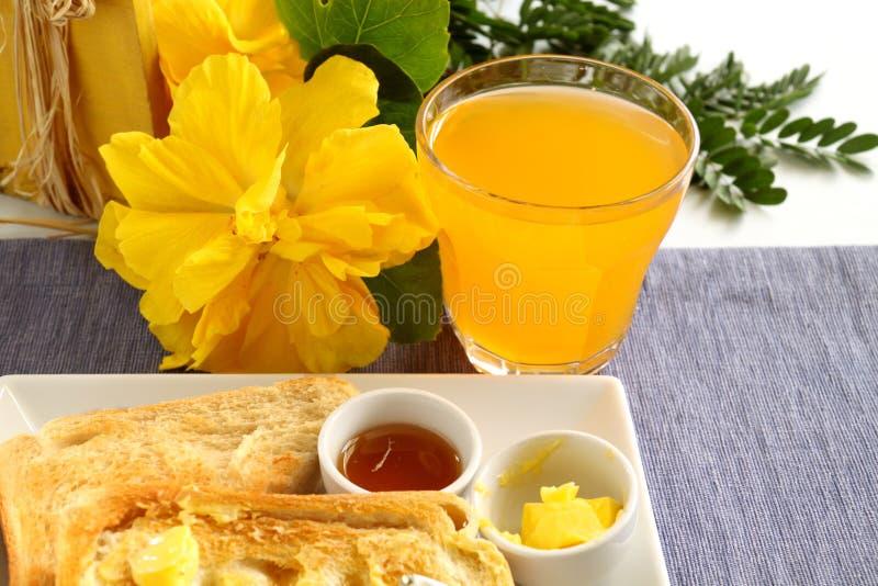 Breakfast Orange Juice stock images