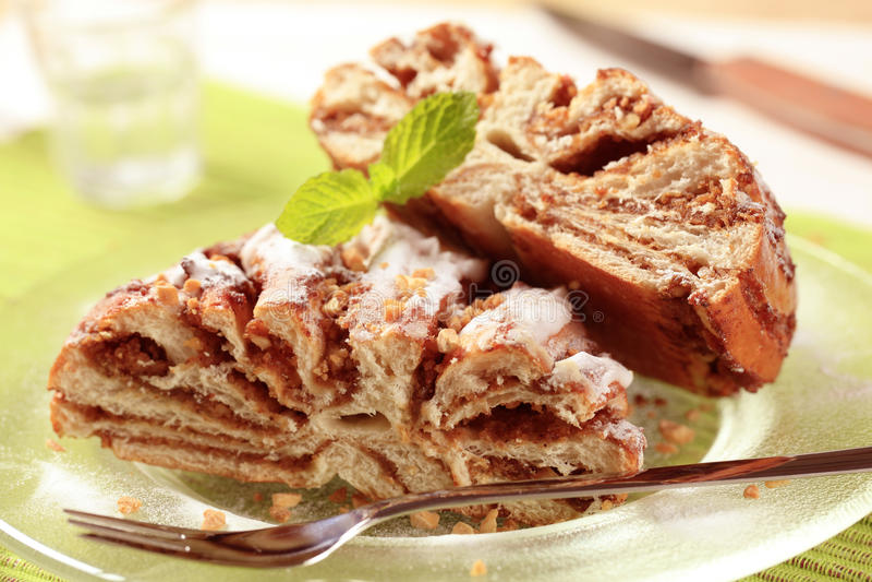Breakfast pastry royalty free stock photos