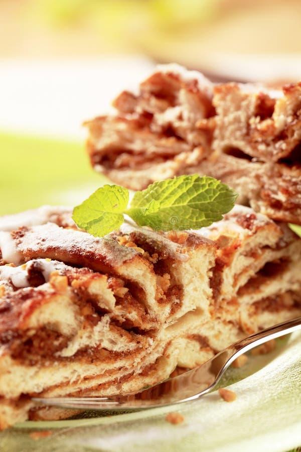 Breakfast pastry stock image