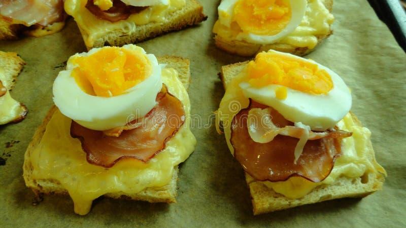 Breakfast Sandwich, Appetizer, Finger Food, Breakfast stock images