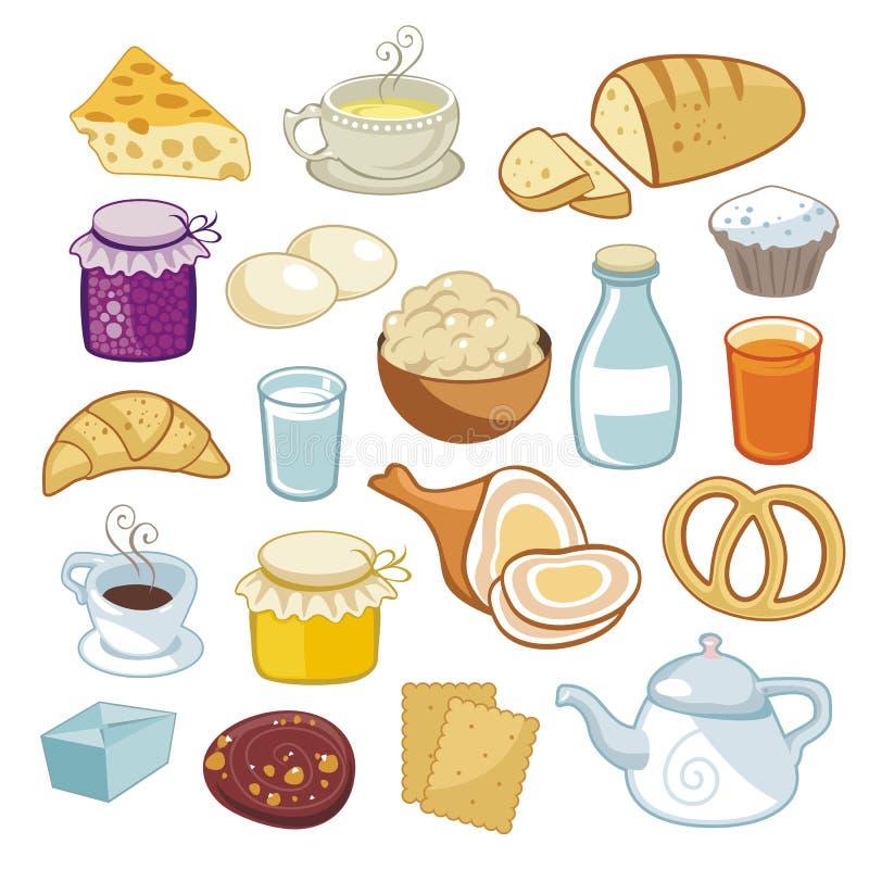 Breakfast Set stock illustration