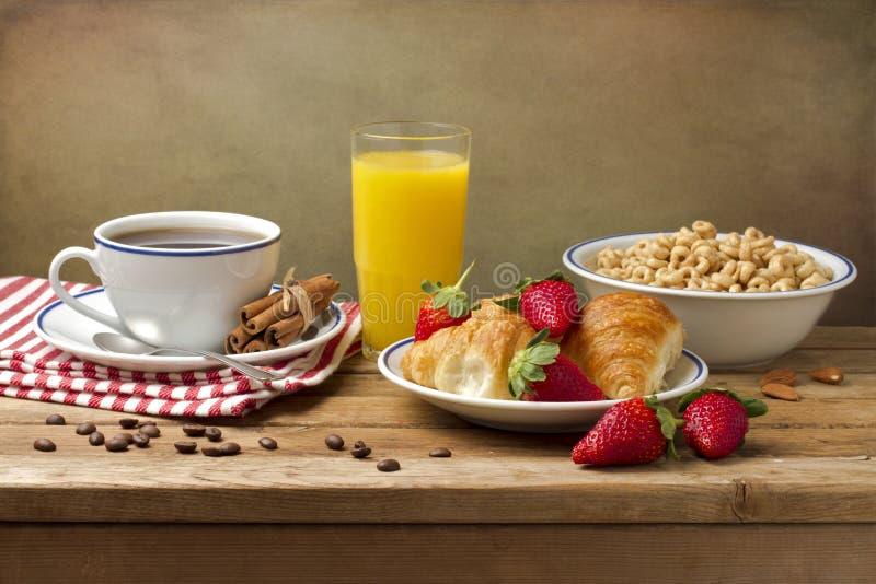 Breakfast Setting Royalty Free Stock Photo