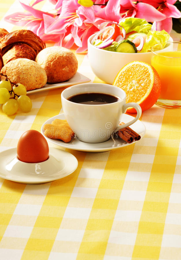 Download Breakfast on the table stock image. Image of salad, coffee - 29030867