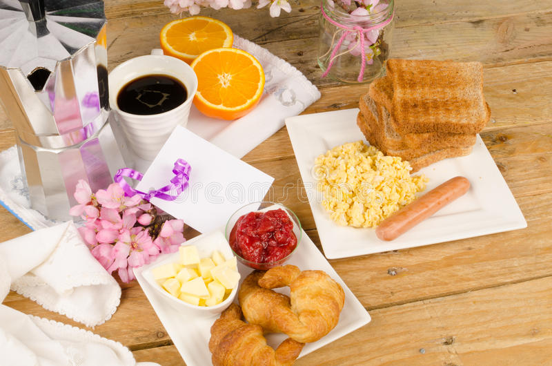 Download Breakfast Table Stock Photo - Image: 41668558