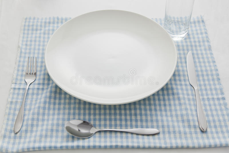 Download Breakfast tableware stock image. Image of metal, empty - 27426269