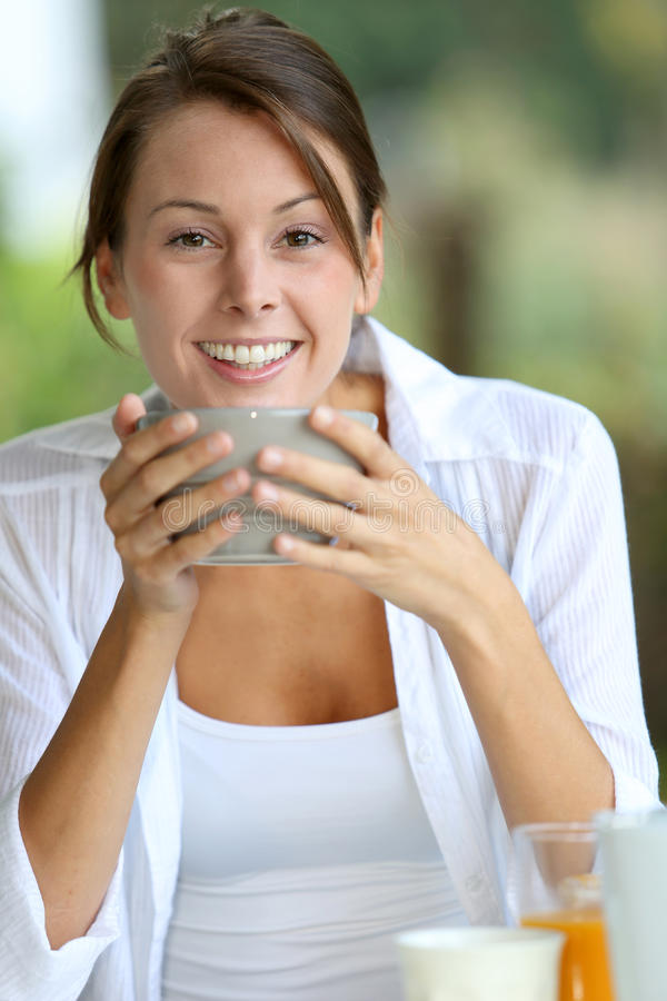 Download Breakfast time stock image. Image of healthy, garden - 26681577