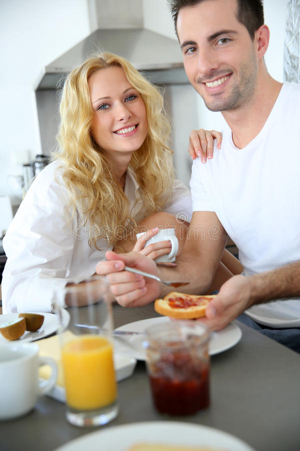 Download Breakfast time stock photo. Image of morning, beautiful - 28270822