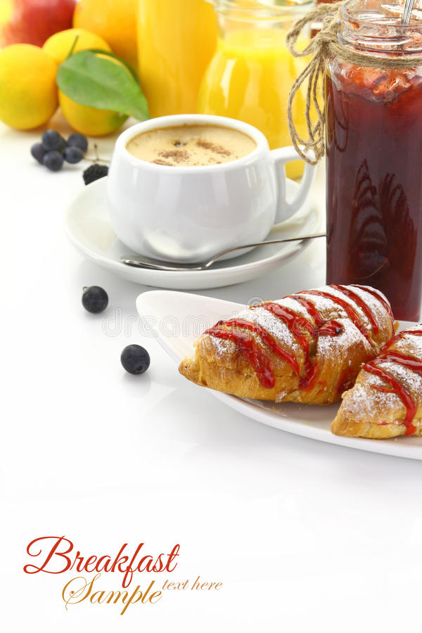 Free Breakfast Time Royalty Free Stock Images - 34718429