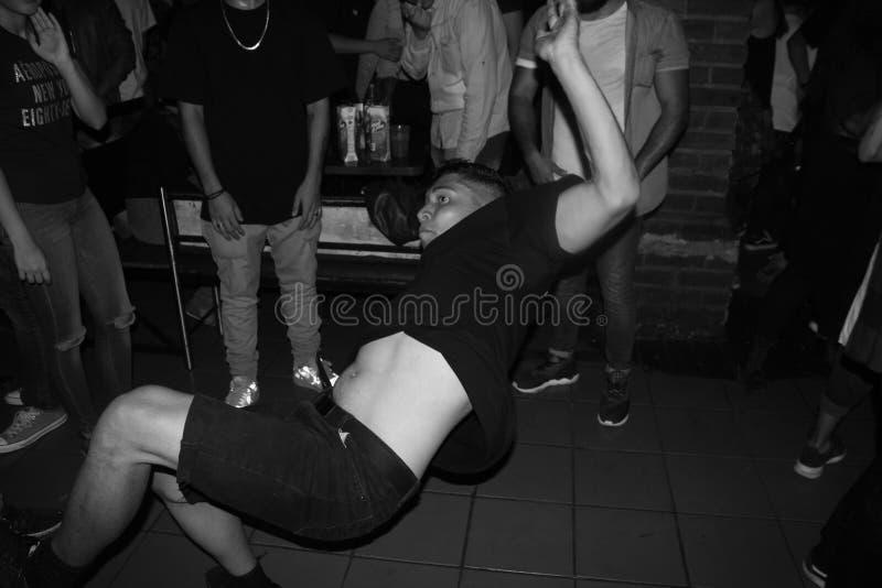 Breakin танец стоковая фотография