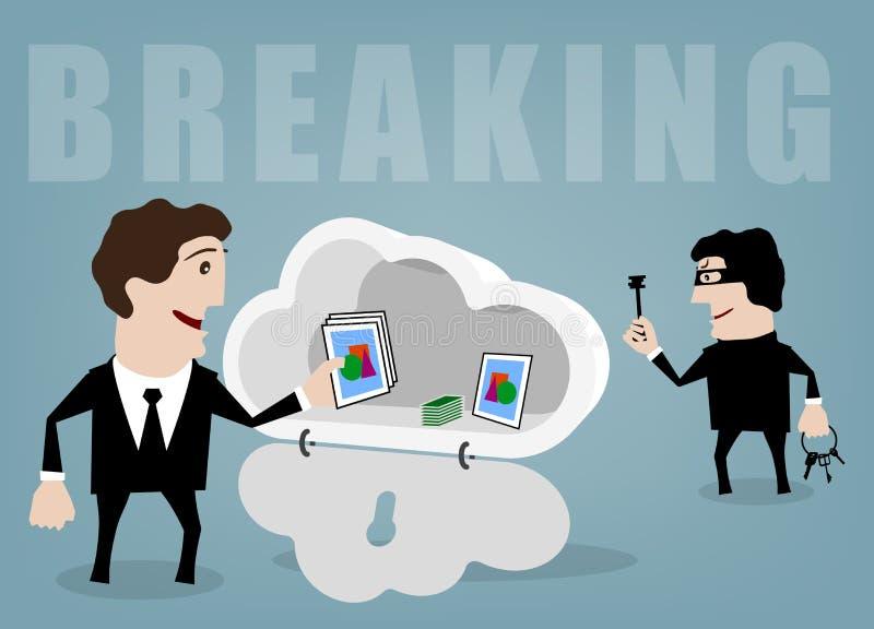 breaking vector illustratie