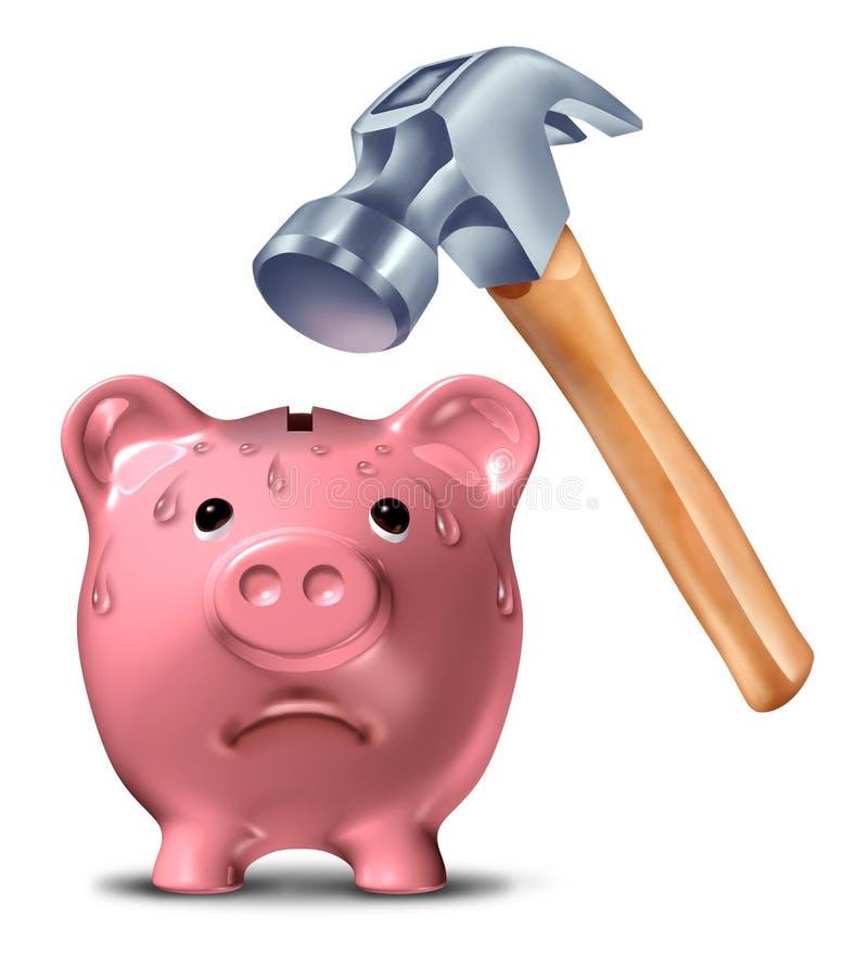 Download Breaking The Bank stock illustration. Image of ceramic - 26162092