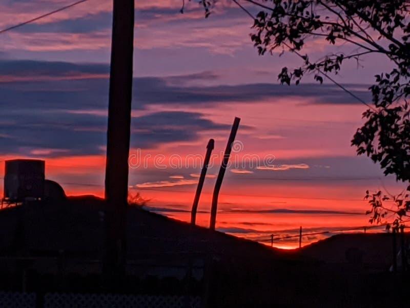 Breaking Dawn California stock photos