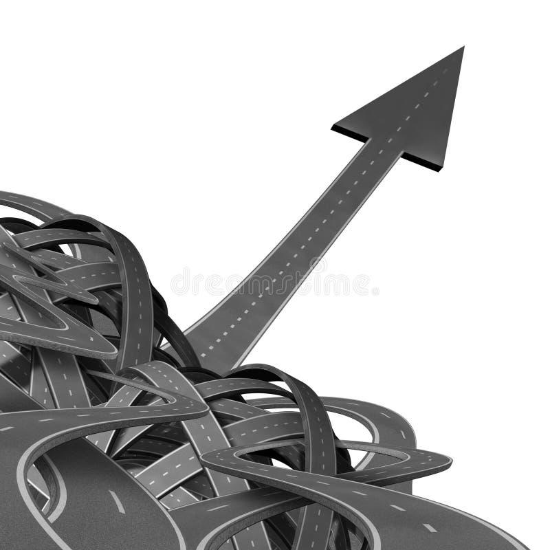 Breaking-Free stock illustration