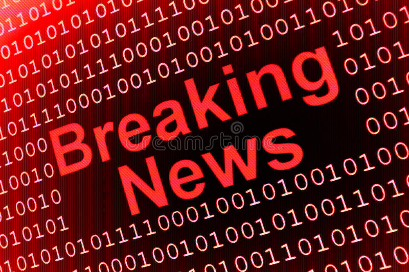Download Breaking News stock illustration. Image of centre, graduated - 11175740