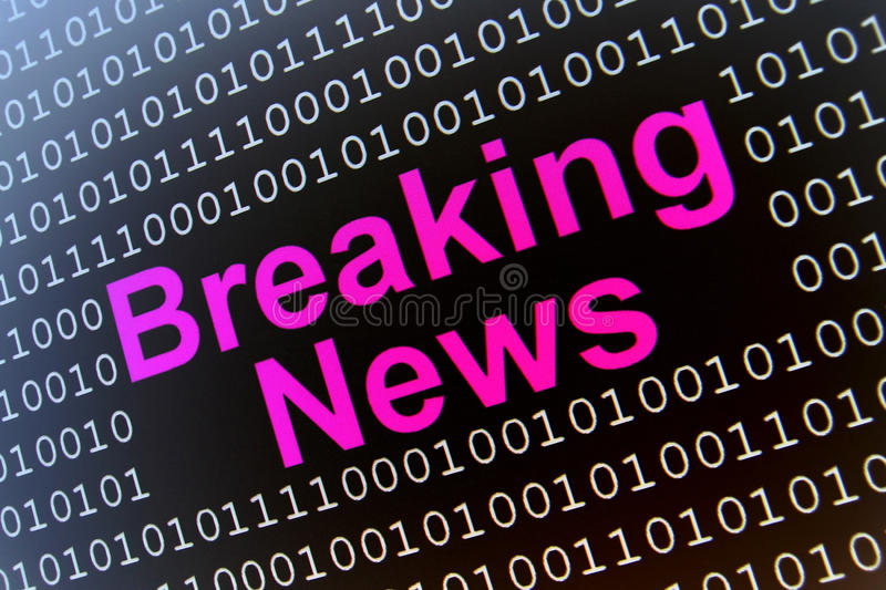 Download Breaking News stock illustration. Image of illustrated - 11175778