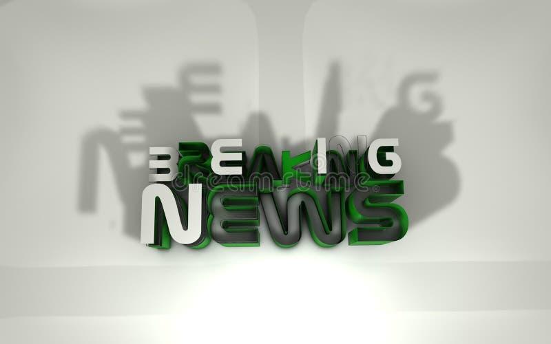 Download Breaking news stock illustration. Illustration of effect - 28753870