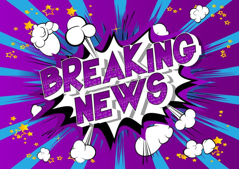 Comic Book Breaking News Stock Illustrations – 38 Comic Book Breaking News  Stock Illustrations, Vectors & Clipart - Dreamstime