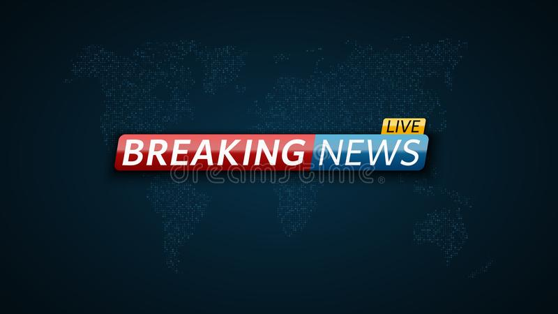 Breaking news live abstract futuristic background with a glowing abstract futuristic background with a glowing blue world map of the gumiabroncs Gallery