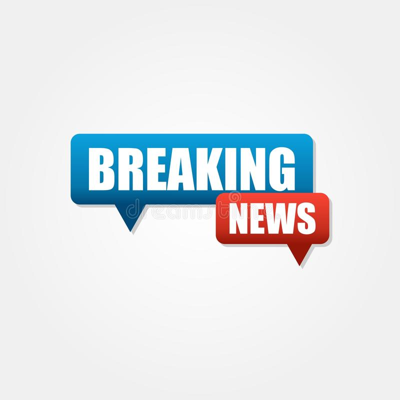 Breaking news logo vector 4 vector illustration