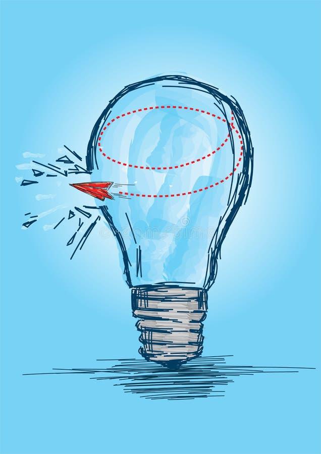 Breaking the Shackles, Freedom Concept - Illustration vectorielle illustration de vecteur