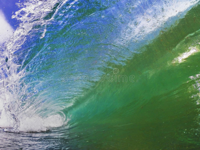 Breaking Wave royalty free stock images