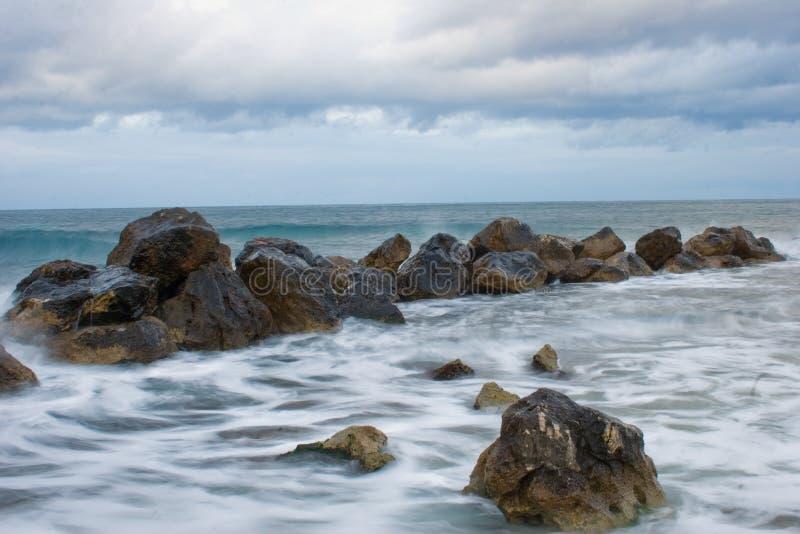 Breakwater stock photography