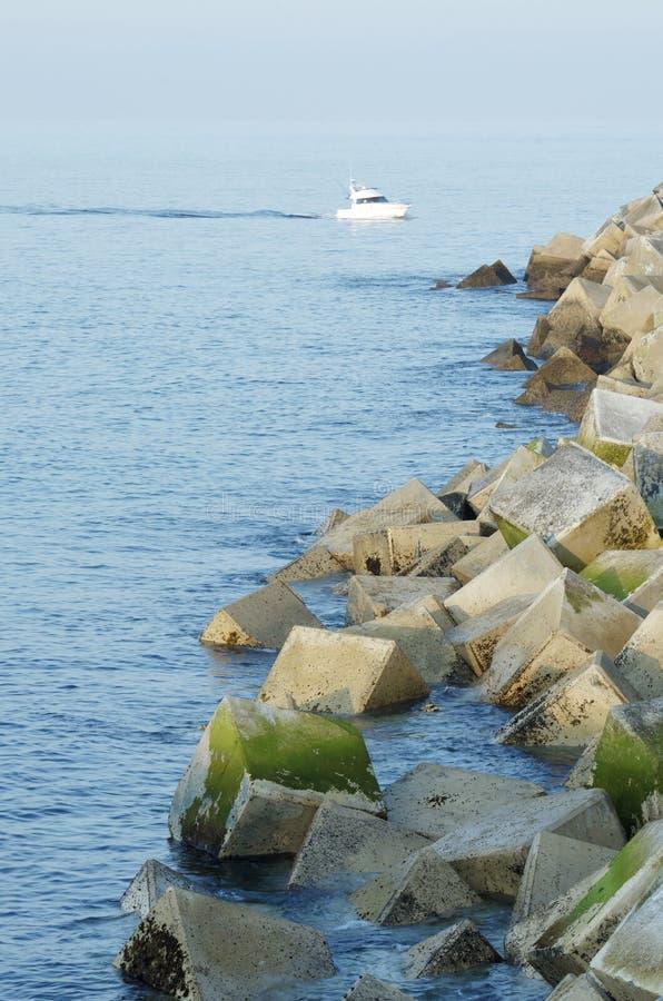 Download Breakwater stock image. Image of harbor, horizon, ocean - 21016507