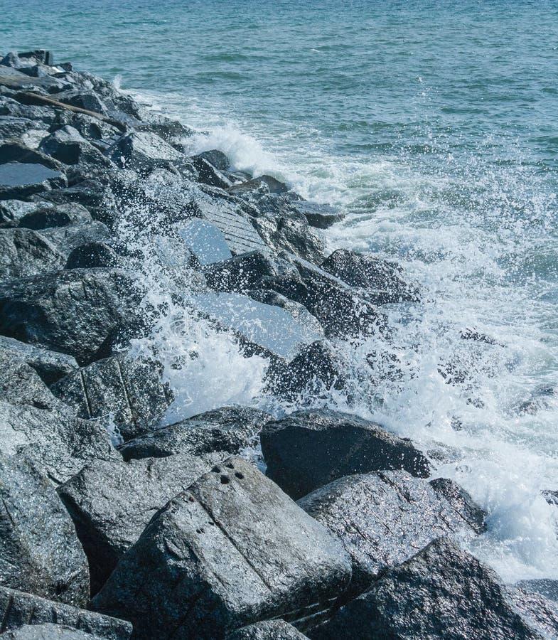 Download Coastal Breakwater UK stock photo. Image of coastline - 27859460
