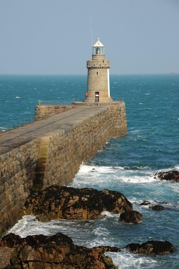 Breakwater lighthouse Guernsey