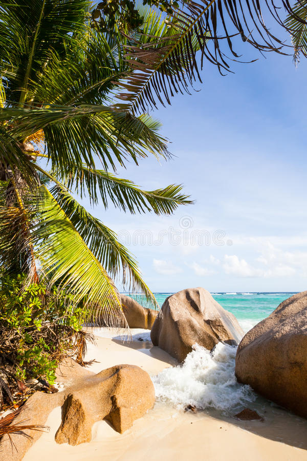 Download Breakwater At Tropical Beach Royalty Free Stock Photo - Image: 31901155