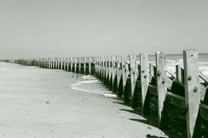 Breakwaters stock photo