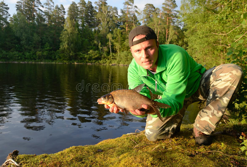 Download Bream Fishing Royalty Free Stock Photo - Image: 25419135