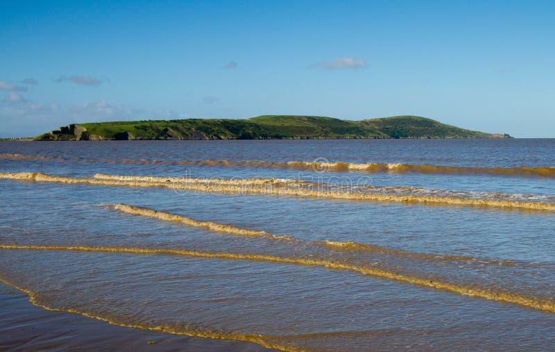 Download Brean Para Baixo Perto Da Weston-super-Égua Imagem de Stock - Imagem de estuary, égua: 26509919