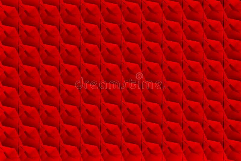 Breasplate z czerwoną teksturą ilustracji