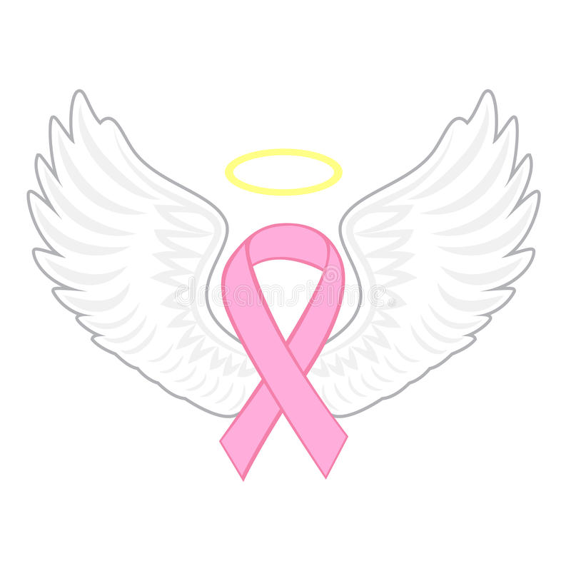 breast cancer angel stock vector illustration of medical 96573645 rh dreamstime com breast cancer vector free download breast cancer vector free