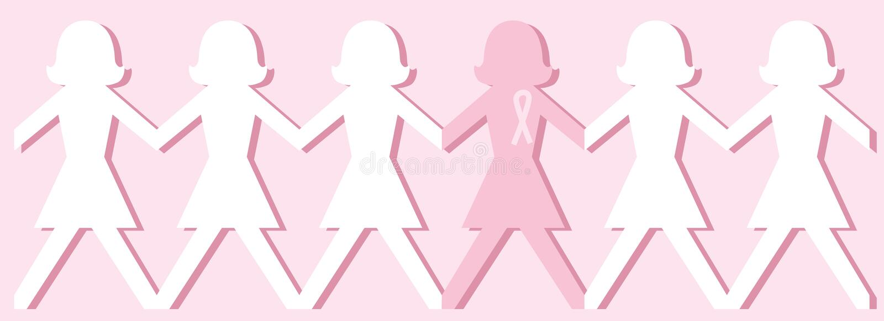Download Breast Cancer Awareness Dolls Stock Vector - Illustration: 4453098