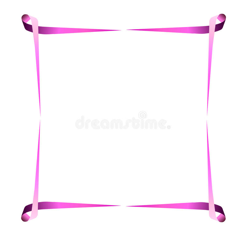 Download Breast cancer border stock vector. Image of care, ribbons - 23719583