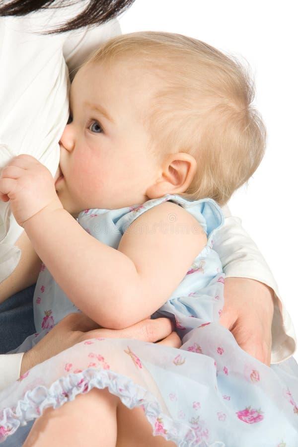 Breastfeeding obraz stock