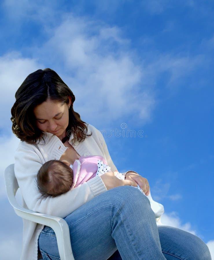 Breastfeeding zdjęcie royalty free