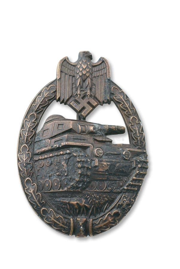 Breastplate alemão (emblema) para o ataque do tanque foto de stock royalty free