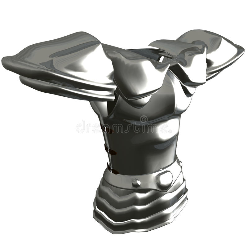 breastplate titanium ilustracja wektor