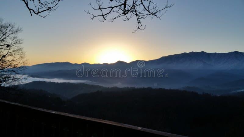 Breathtaken door Mountain View royalty-vrije stock fotografie