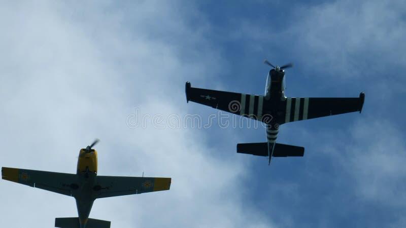 Breathtaking flyover! fotografia stock