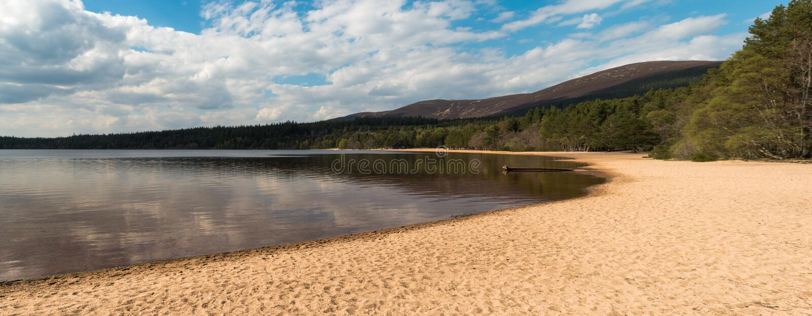 Breathtaking rural Lake view royalty free stock image