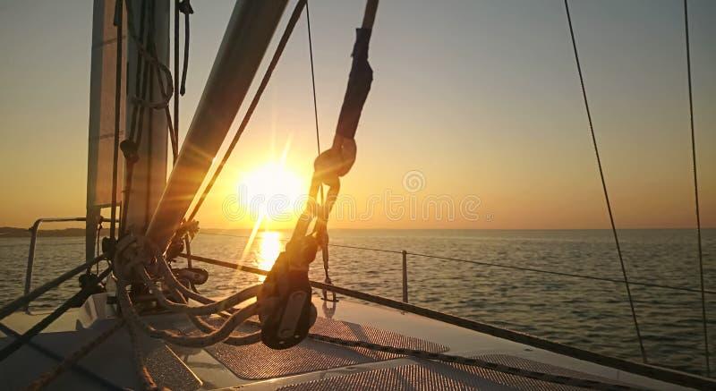 Breathtaking sunrise on horizon, start of new day, hopes for future, challenge. Stock photo stock photos