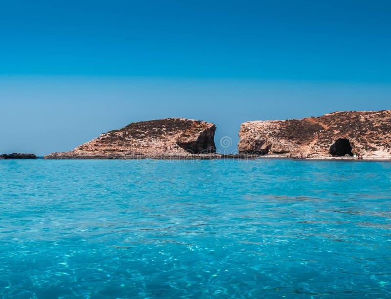 Breathtaking views of Comino Island royalty free stock photography