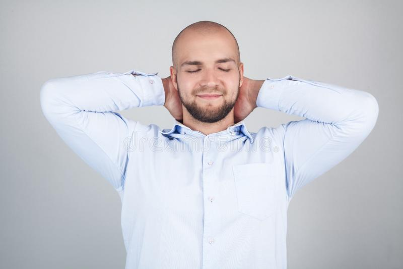 Brechen Sie des Managerfreiberuflerbesch?ftigungschefpersonals des Pausenleutefeiertagsfreien tages Angestelltes Konzept Nahes ho lizenzfreies stockfoto