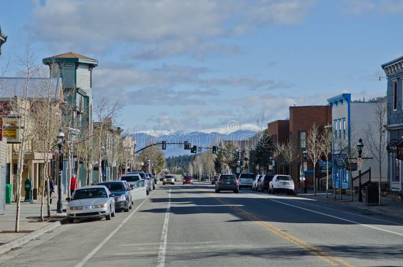 breckenridge科罗拉多 免版税图库摄影