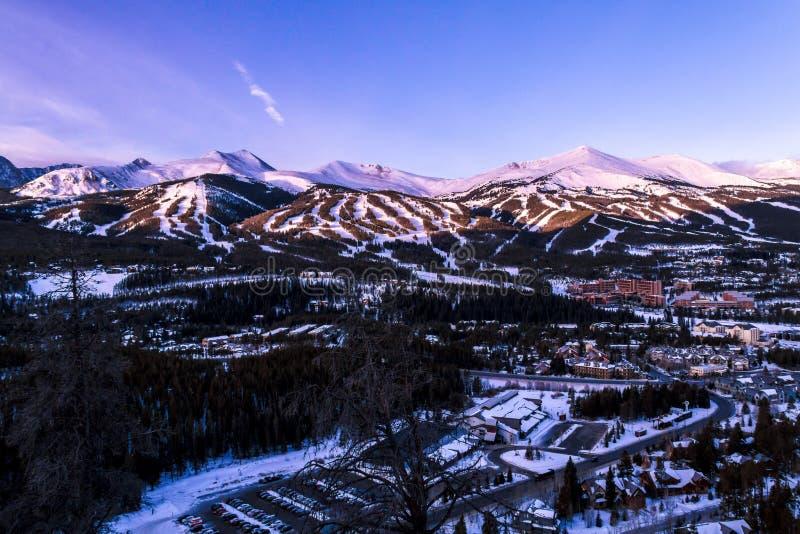 Breckenridge Колорадо стоковая фотография rf